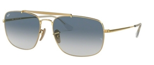Ray Ban RB3560 The Colonel Gold w/ Gradient Blue
