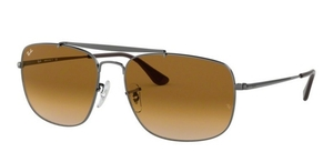 Ray Ban RB3560 The Colonel Gunmetal w/ Brown Gradient