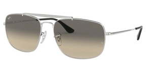 Ray Ban RB3560 The Colonel Silver w/ Gradient Grey