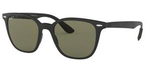 Ray Ban RB4297 Matte Black w/Polar Green sunglasses