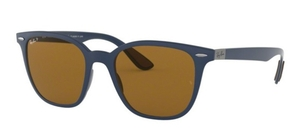 Ray Ban RB4297 Matte Dark Blue w/Polar Brown