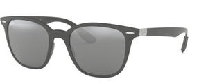 Ray Ban RB4297 Matte Dk Greys with grey silver mirror