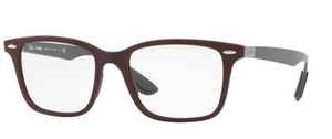 Ray Ban Glasses RX7144 Sand Dark Violet