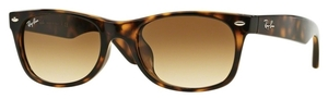 Ray Ban RB2132F Light Havana with Crystal Brown Gradient Lenses