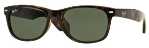 Ray Ban RB2132F Tortoise with Crystal Green Lenses