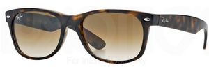 Ray Ban RB2132 New Wayfarer Light Havana w/ Crystal Brown Gradient Lenses 710/51