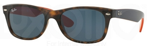 Ray Ban RB2132 New Wayfarer Matte Havana w/ Grey Lenses