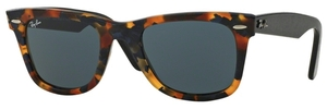 Ray Ban RB2140 Wayfarer Havana Blu Effect Aged w/ Grey Lenses