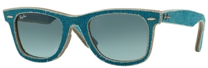Ray Ban RB2140 Wayfarer Jeans Azure with Blue Gradient Grey Lenses