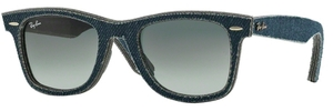 Ray Ban RB2140 Wayfarer Jeans with Grey Gradient Dark Grey Lenses