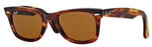 Ray Ban RB2140 Wayfarer Light Tortoise with Crystal Brown Lenses