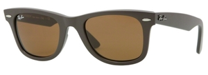 Ray Ban RB2140 Wayfarer Matte Turtledove w/ Crystal Brown Lenses