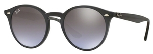 Ray Ban RB2180 Opal Grey with Violet Gradient Brown Silver Mirror Lenses