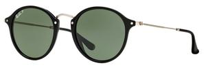 Ray Ban RB2447 Black w/ Green Polarized Lenses