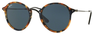 Ray Ban RB2447 Spotted Blue Havana w/ Grey Lenses