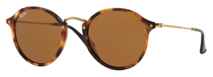 Ray Ban RB2447 Spotted Brown Havana w/ Brown Lenses