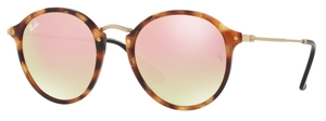 Ray Ban RB2447 Spotted Brown Havana w/ Copper Flash Gradient Lenses