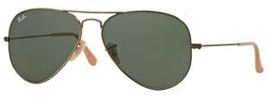 Ray Ban RB3025 Aviator Large Metal Sunglasses