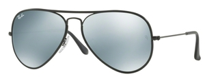 Ray Ban RB3025JM Black / Light Green Mirror Silver