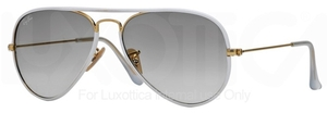 Ray Ban RB3025JM Shiny Gold/Grey with Grey Gradient Lenses