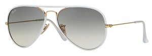 Ray Ban RB3025JM Shiny Gold / Grey Gradient