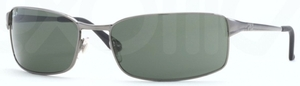 Ray Ban RB3269 Gunmetal with Polarized Crystal Green Lenses