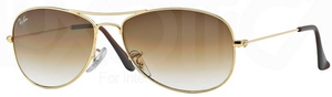 Ray Ban RB3362 Cockpit Arista w/ Crystal Brown Gradient Lenses