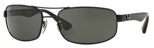 Ray Ban RB3445 Matte Black with Polarized Dark Grey Lenses