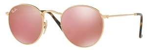 Ray Ban RB3447N Shiny Gold with Crystal Copper Flash Lenses