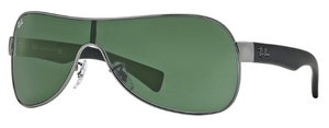 Ray Ban RB3471 Gunmetal with Green Lenses