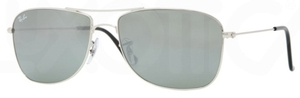 Ray Ban RB3477 Silver with Crystal Grey Mirror Lenses