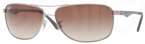 Ray Ban RB3506 Gunmetal with Brown Gradient Lenses
