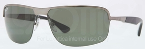 Ray Ban RB3510 Gunmetal with Polarized Green Lenses