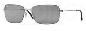 Ray Ban RB3514 Demi Gloss Silver with Grey/silver Mirror