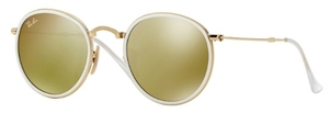 Ray Ban RB3517 Gold with Brown Mirror Gold Lenses