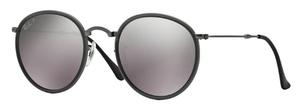 Ray Ban RB3517 Matte Gunmetal with Polarized Grey Mirror Lenses
