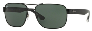 Ray Ban RB3530 Black with Gray Green Lenses