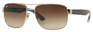 Ray Ban RB3530 Gold with Brown Gradient Lenses 100213