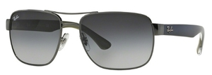 Ray Ban RB3530 Gunmetal with Gray Gradient Lenses