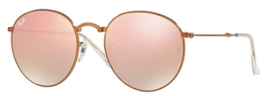 Ray Ban RB3532 Shiny Bronze with Crystal Copper Flash Gradient Lenses