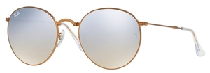Ray Ban RB3532 Shiny Bronze with Crystal Grey Flash Gradient Lenses