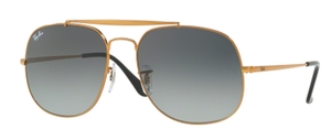 Ray Ban RB3561 GENERAL Bronze with Grey Green Lenses