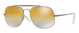 Ray Ban RB3561 GENERAL Gunmetal with Brown Gradient Mirror Lenses