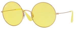 Ray Ban RB3592 Shiny  Copper with Light Yellow Lenses
