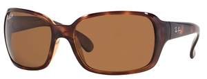 Ray Ban RB4068 Havana with Polarized Crystal Brown Lenses