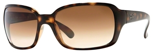 Ray Ban RB4068 Light Havana w/ Crystal Brown Gradient Lenses 710/51
