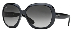 Ray Ban RB4098 JACKIE OHH II Black with Gray Gradient Lens