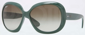 Ray Ban RB4098 Sage Green with Green Gradient Lenses
