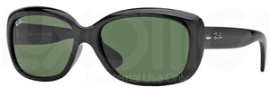 Ray Ban RB4101 Jackie Ohh Black w/ Crystal Green Lenses  601