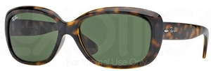Ray Ban RB4101 Jackie Ohh Light Havana with Crystal Green Lenses 710